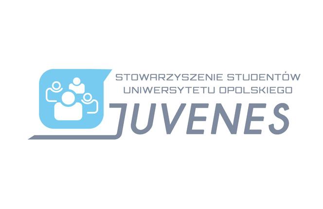 Logo Juvenes Uniwersytetu Opolskiego